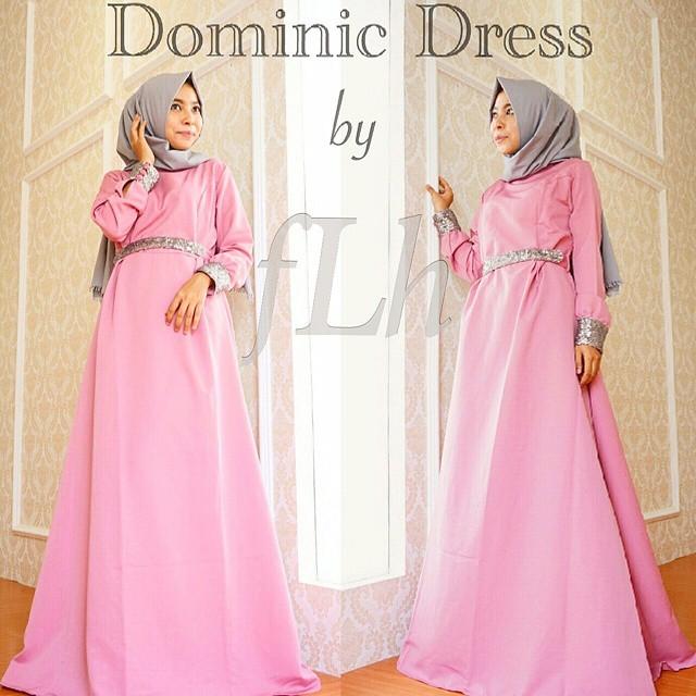 Model Gaun Pesta Muslimah Yang Elegan Dan Anggun Widyanakhofifah12